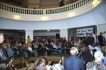 Kern rally (BP News)