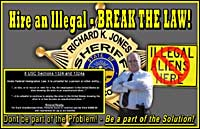 New billboards in Butler County proclaim Sheriff Jones' new focus on business who hire undocumented