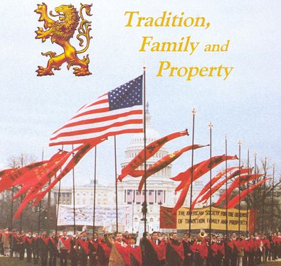 Tradition Family and Property rally